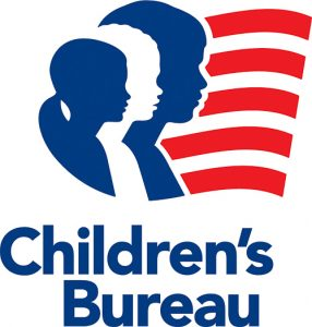 Logo for the Children's Bureau, NCANDS Data Source