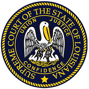 Logo for the Supreme Court of Louisiana, Protective Orders Data Source